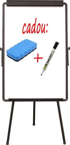 Flipchart-magnetic-Visual-60x90-cm-burete-magnetic-si-un-marker-Pentel-cadou